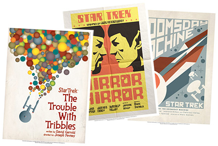 Star Trek Retro Movie-style Prints