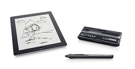 Wacom Intros Pressure Sensitive Creative Stylus for iPad