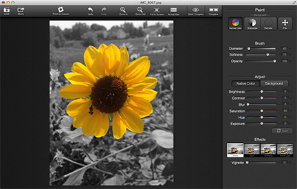 Easy Grayscale and Color Image Effects with ColorStrokes