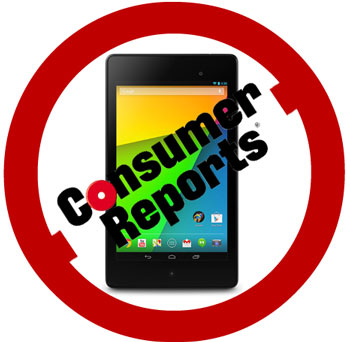 Consumer Reports and the Nexus 7