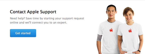 contact apple support chat