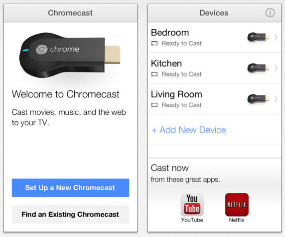 Google Releases Chromecast Setup App for iOS