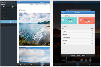 Build Websites on Your iPhone, iPad with Jimdo