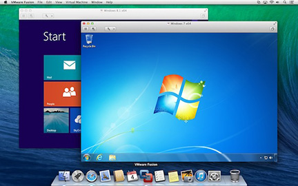 VMWare Fusion 6 includes OS X Mavericks and Windows 8.1 virtual machine support