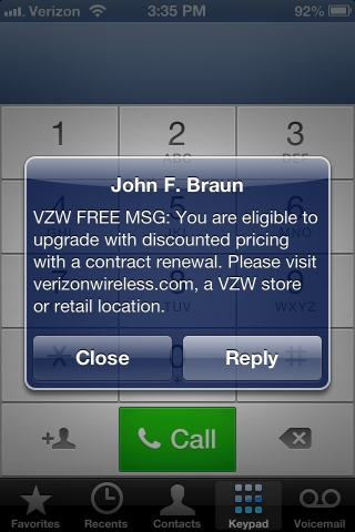 The Verizon Phone Upgrade policy lets customers find out how and when they can.