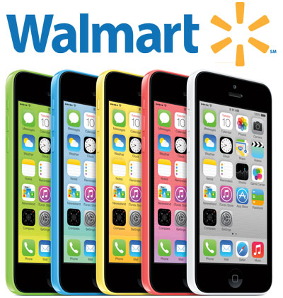 iPhone 5c at Walmart