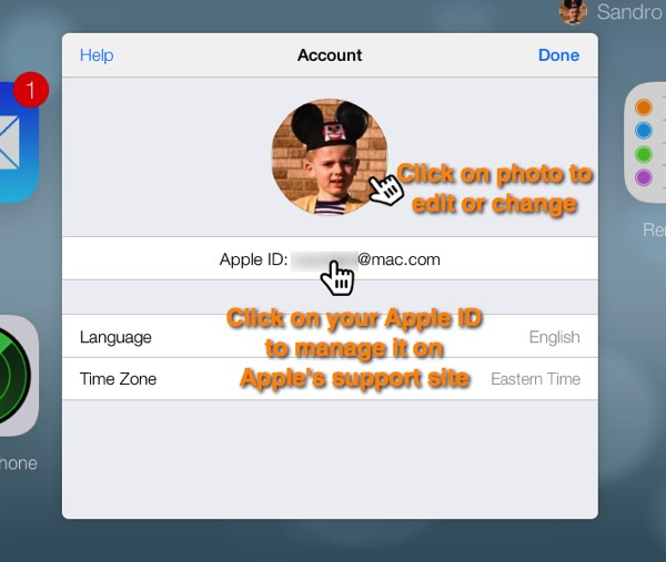 how to set up multiple icloud accounts