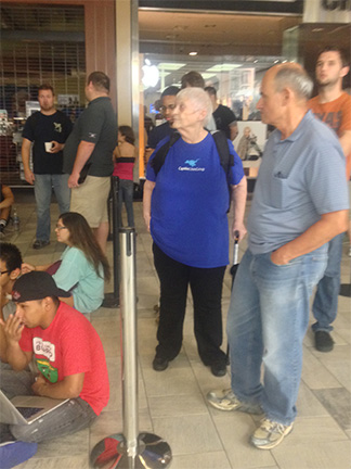 TMO's Nancy Gravely at the Austin Apple Store