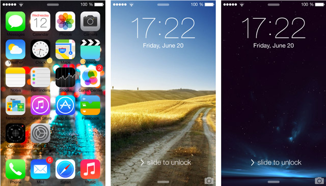 More iOS 7 Parallax Wallpaper for iPhone 5, 5c, 5s