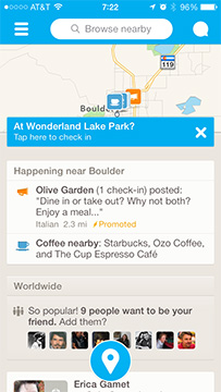 Foursquare for iPhone Update makes Finding Friends Easier