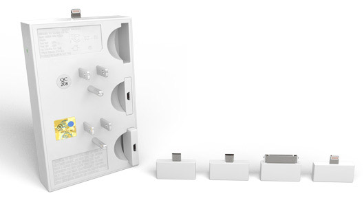 thingCHARGER on Indiegogo - a Wall Charger with Adapters to Charge Most Devices