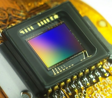 A picture of a typical image sensor.