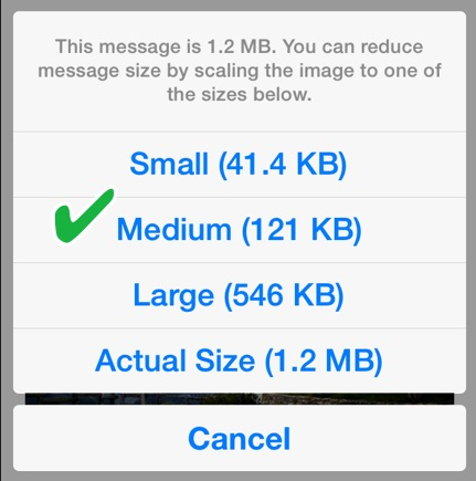 How to Properly Email Photos in iOS 7 - The Mac Observer