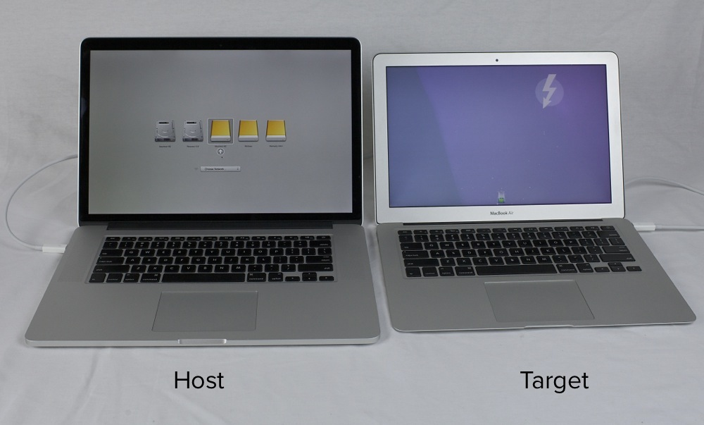How to Use Target Disk Mode to Boot From Another Mac\u0027s Hard Drive