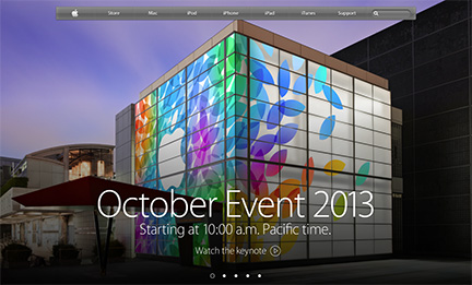 You can watch the event on Apple's website, too
