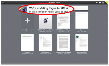 Apple preps iWork for iCloud update ahead of Tuesday's media event