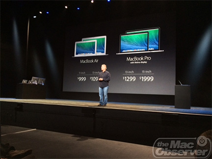 Apple's Phil Schiller shows off new MacBook Pro models