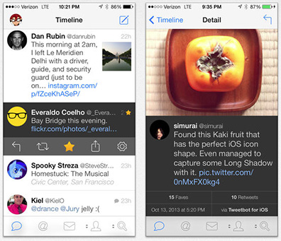 Tweetbot 3 for iPhone gets an iOS 7 Makeover