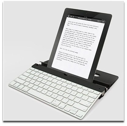 Nimblstand Holds Apple's Wireless Keyboard and Your iPad, Too