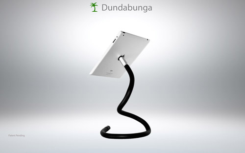 Dungabunga Flexible Unipod Stand for iPad Now on Indiegogo