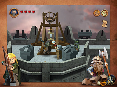 Lord of the Rings goes LEGO on iPad, iPhone