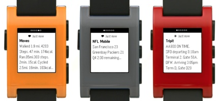 Pebble gets support for iOS 7 Notifications