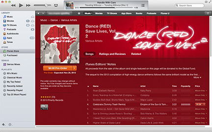 Apple Launches Second Global Fund Support Album on iTunes