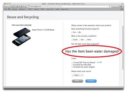 Apple eases up on iPhone water damage policy