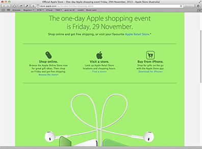Get ready for Apple's Black Friday deals