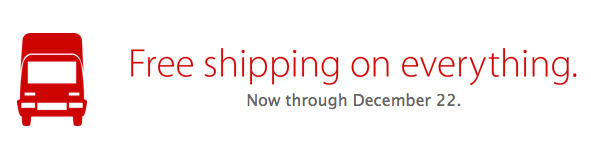Apple Store Free Shipping