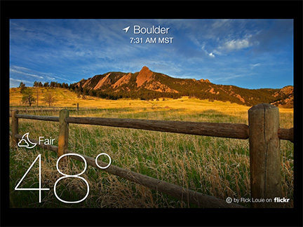 Yahoo! Weather App Comes to iPad, iPad mini
