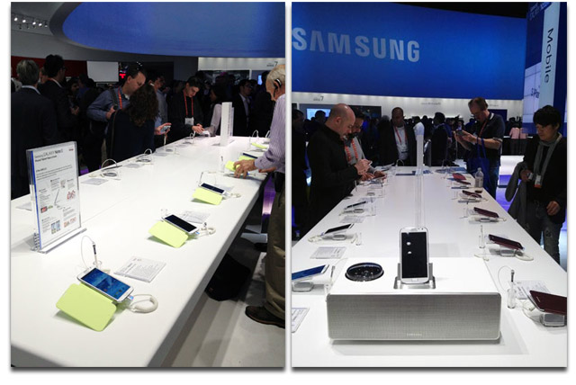 Samsung CES Booth 2013