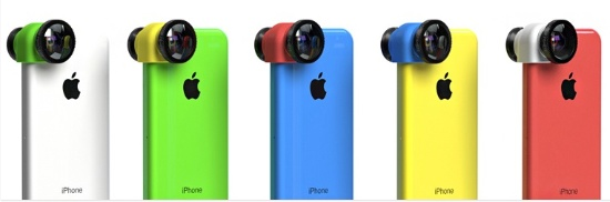 A New, Colorful olloclip Lens Kit for iPhone 5c