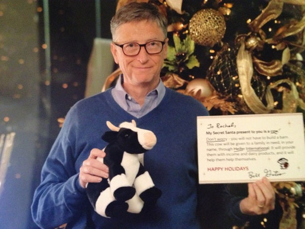 Bill Gates Being Awesome
