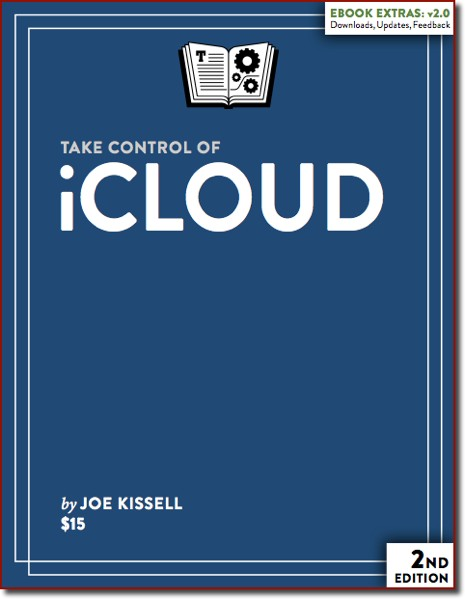 "The cover of the book ""Take Control of iCloud"""