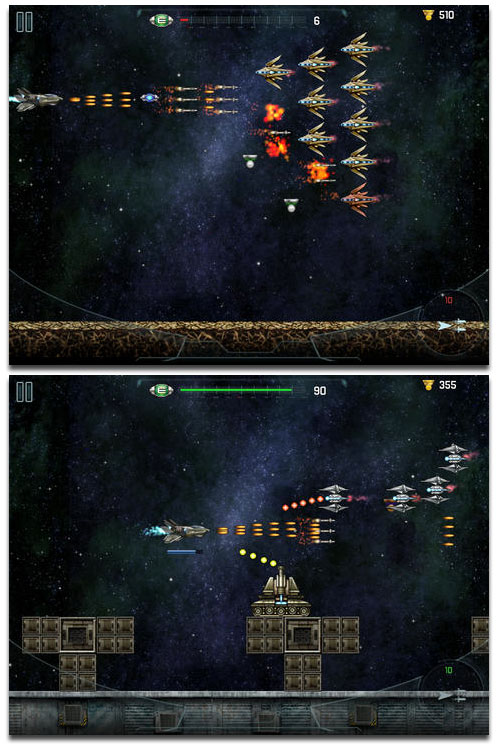 Space Cadet Defender: Recon Invaders - Side Scrolling Blasting Fun