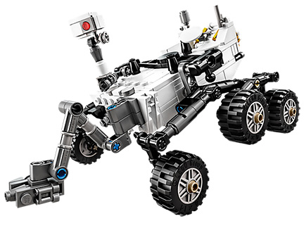 Mars Curiosity Rover gets LEGO CUUSOO Treatment