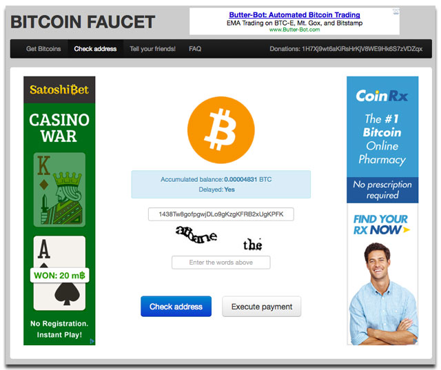 Get Free Bitcoins With 50 Website Faucets That Really Pay