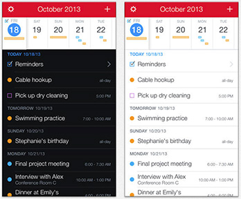 A better way to view your appointments. Thanks, Fantastical
