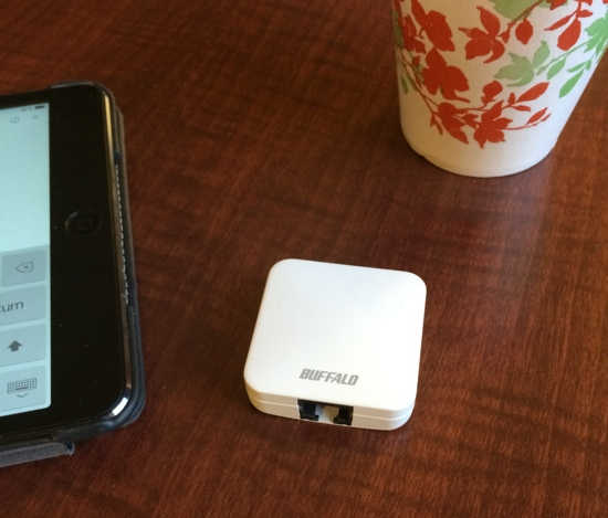 Buffalo Shows AC433 Mini Travel Wireless Router at CES