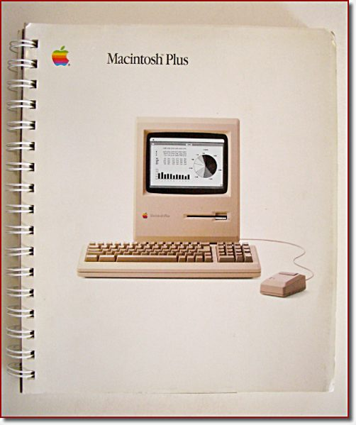 The Macintosh Plus owners manual