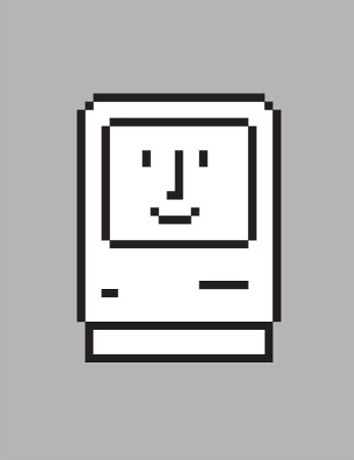 The original Smiling Mac icon