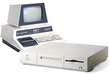 Two computers that had a big impact on Jeff's life: the Pet 2001 and Mac Quadra 610