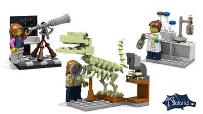 LEGO Female Scientists CUUSOO Kit: Make it Happen