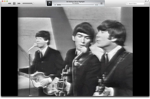 Apple Streams The Beatles's Historic Ed Sullivan Performance
