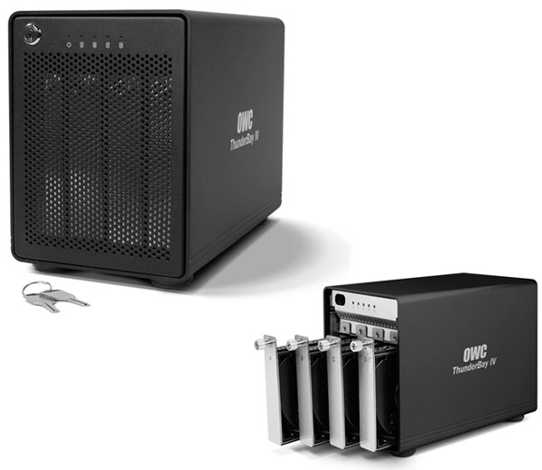 OWC Announces ThunderBay IV, 4 Bays of Thunderbolt Storage