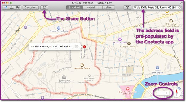 The Maps app