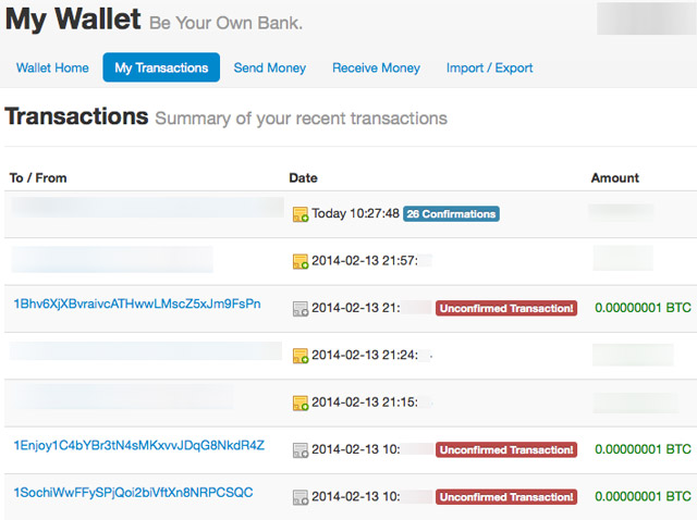The Mysterious Case of 1 Satoshi Transactions Clogging Up Bitcoin Wallets
