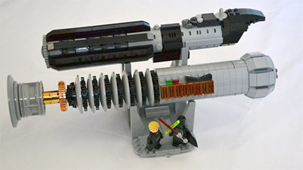 Two Words: LEGO Lightsabers