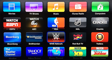 Apple TV adds WWE Network